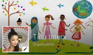 Tina InterX official facebook page